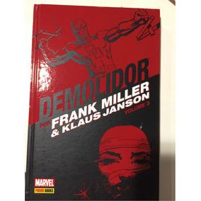 Demolidor Mercenario Justiceiro Elektra Capa Dura Frank Mill