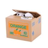 Orange Cat - Moneda De Robar Lindo Regalo De Navidad De-3706