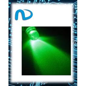 20x Led Verde De 5mm Alto Brilho