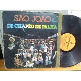 Lp Sao Joao Chapeu Palha Gonzaguinha Baiao Ze Pitanga - Música no ... d7b6e871574