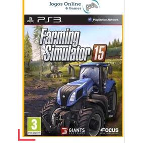 Farming Simulator 15 Ps3 Mídia Digital Psn - Cód Jogo