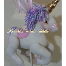 Unicornio Piñata Bolo Fiesta Centro De Mesa Lampara Dulces