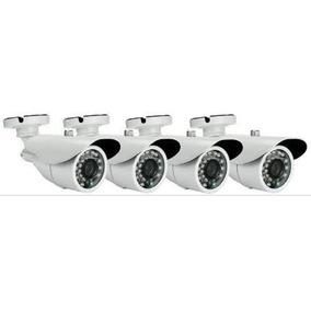 Kit 4 Cameras Infravermelho+dvr 4 Canais