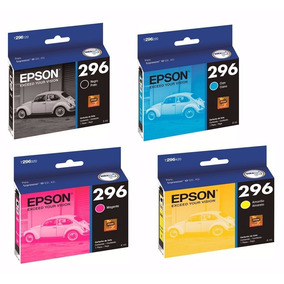Kit 4 Cartuchos Originais Epson Para 296 Xp241 Xp 241