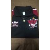 Casaca Y Camiseta adidas De Los Heat.