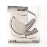 Auriculares Mow Mw Rave Blanco