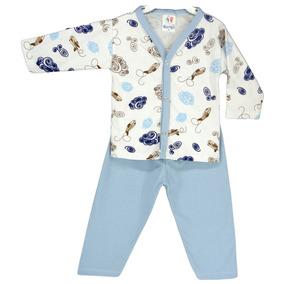 Pijama Bebê Inverno Manga Longa Menino E Menina 100%algodão