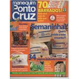 Revista Manequim Ponto Cruz N° 72- Frete Gratis