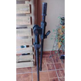 Pedestal Suporte Microfone Para Aproveitar Peças