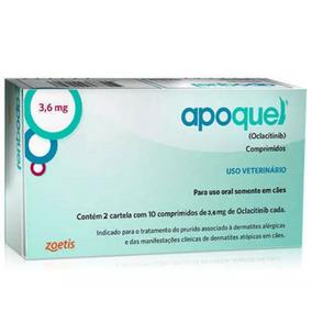 Apoquel 3,6mg Zoetis - 1 Caixa - Oclacitinib