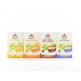 Cereal Orgánico Para Bebé 4 Variedades Paquete 2 Gluten Free
