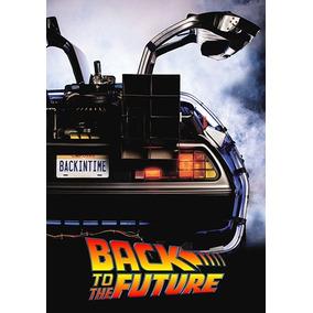 Pôster Cinema Filme De Volta Para O Futuro 1 - 30 X 45 Cm 2a