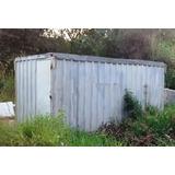 Container De Lata (5 C X 2,4 A X 2,30 L Mts)