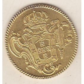 6.400 Réis 1776r Sob/fc D. José I - 1º Tipo 14,34 Gr 6.700,0