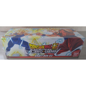 Draft Box 03 - Dragon Ball Super Tcg - 24 Boosters + Promos