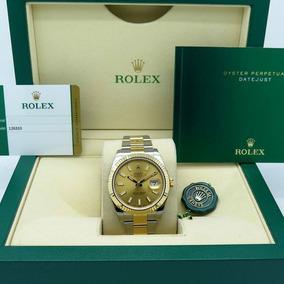 Rolex Datejust 41mm Oro 18 K Champagne Año 2017