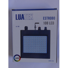 Estrobo Strobo 108 Led Rgb Profissional Luatek Lk108