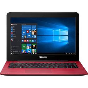 Notebook Asus Vermelho Core I3 8gb 128 Ssd Tela 14 Hd
