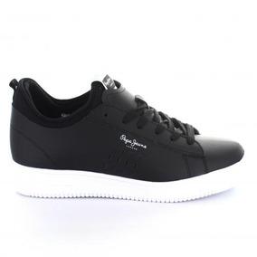 Tenis Para Hombre Pepe Jeans 2299-050454 Color Negro