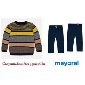 Conjunto Mayoral Sueter Y Pantalón 6 Años Est. 4300 A