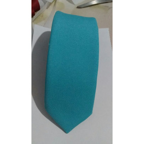 Gravata Azul Tiffany Fosca - Acessórios da Moda no Mercado Livre Brasil f017f82af9