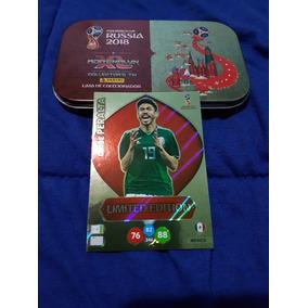 Lata Adrenalyn Xl 2018 + Card Peralta Limited Edition