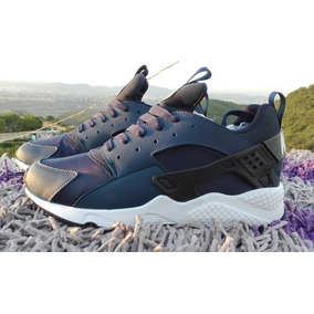 buy popular 477f5 1dd3d Zapatos Nike Air Max Huarache Azul Para Damas Y Caballeros.