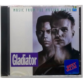 cd trilha sonora do filme o gladiador