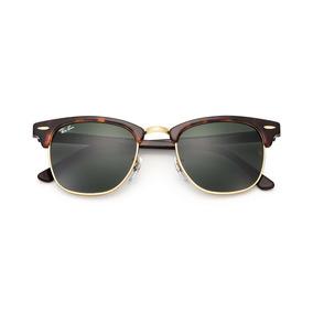 fcaf85e6e Ray Ban Clubmaster Tartaruga Rb 3016 Tam 49 21 (pequeno) - Óculos no ...