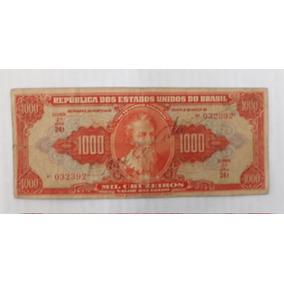 Abobrinha Cr$ 1.000 - 2ª Estampa - Autografada R