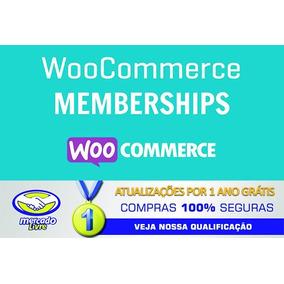 Woocommerce Memberships Versão 1.10.0 + Atualizações