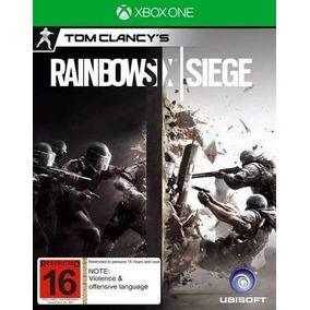Rainbow Six Siege Ja No Perfil Digital Xbox One