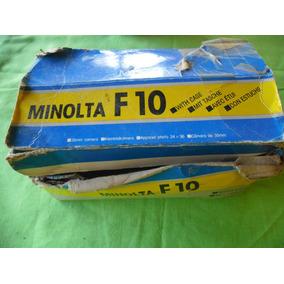 Camara Convencional Usada De Colección Minolta Mod F 10