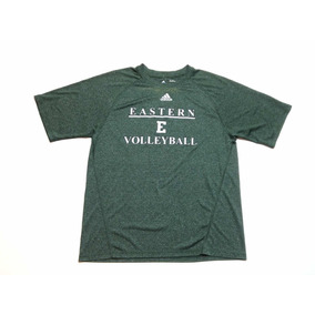 045e96726d1c4 Remera adidas Volleyball Climalite Verde Hombre Talle S