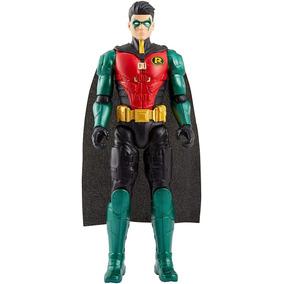 Boneco Robin Mattel 30cm Articulado Dc Batman Original Fvm71