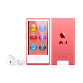 Ipod Nano 16gb Rosa Tela 2,5 Apple
