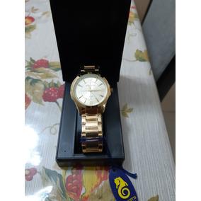 Relógio Feminino Original Atlantis Dourado