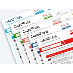 Script Site Wordpress/ Classipress - Site De Classificados!