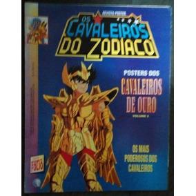 Revista Pôster Cavaleiros Do Zodíaco Nº 6 Cavaleiros De Ouro