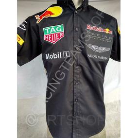 Camisa Automovilismo Escuderia Red Bull Uniforme F1 Nascar 21c5c7d1eedf9