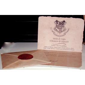 Carta Personalizada Harry Potter Hogwarts Com Seu Nome