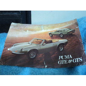 Brochura Original Puma Gte E Gts