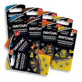 Rayovac Pilas Para Audífono Pack 10 Blister De 6un 4 Modelos