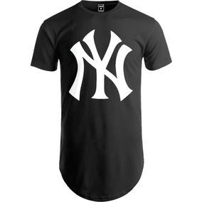 Camiseta Longline Oversized Camisa Swag New York 6eb967cc05c