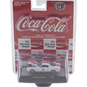 M2 Coca Cola 1965 Shelby G.t. 350r Rc01 Coche 1: 64 Diecast