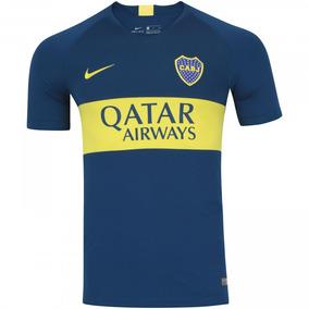 09494739fdab5 Nova Camisa Boca Juniors Oficial Home 2019 - Frete Grátis!