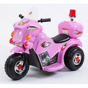 Moto 3 Ruedas A Bateria Niño 6v Policia Love 3003 Tiendalove