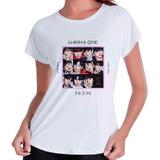 Camiseta Camisa Wanna One Undivided Kpop Babylook Branca