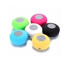 Caixa Som Bluetooth Caixinha Prova Agua Banheiro - Kit 7 Un