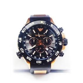 fdea7dd8f00 Relógio Empório Armani Preto Ar5865 5865 Aço Original - Relógios De ...